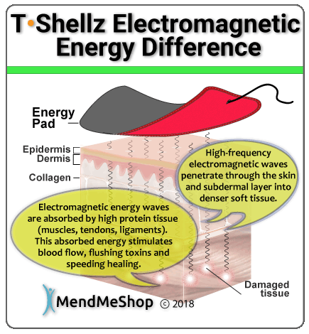 Tshellz electromagnetic energy device