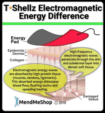 Tshellz electromagnetic energy device